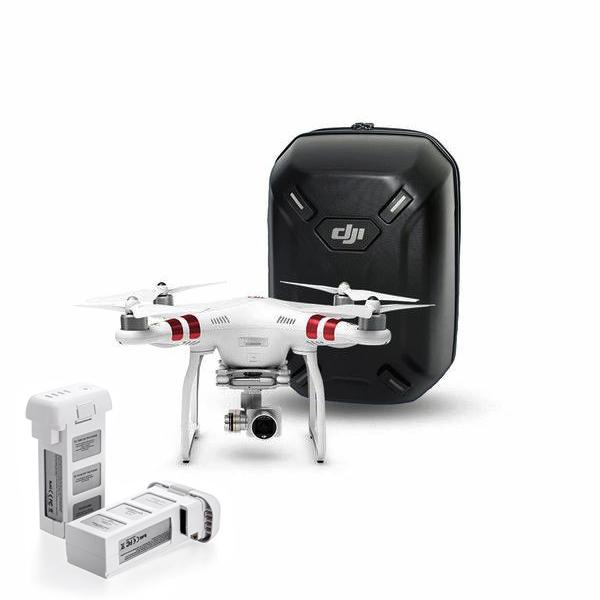 Квадрокоптер DJI Phantom 3 Standard с доп. аккумулятором и рюкзаком