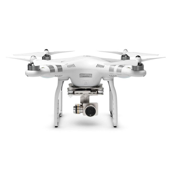 Квадрокоптер DJI Phantom 3 Advanced с 3х-осевым подвесом, HD камерой