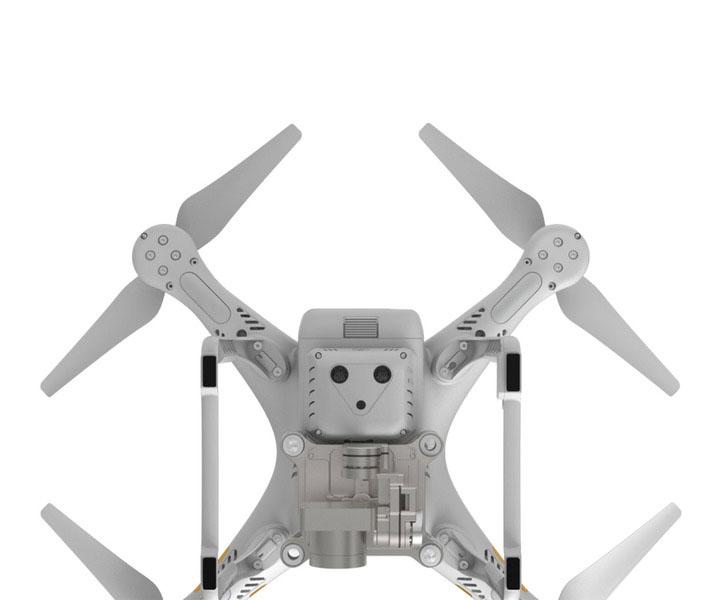 Квадрокоптер DJI Phantom 3 Advanced с доп. аккумулятором и рюкзаком