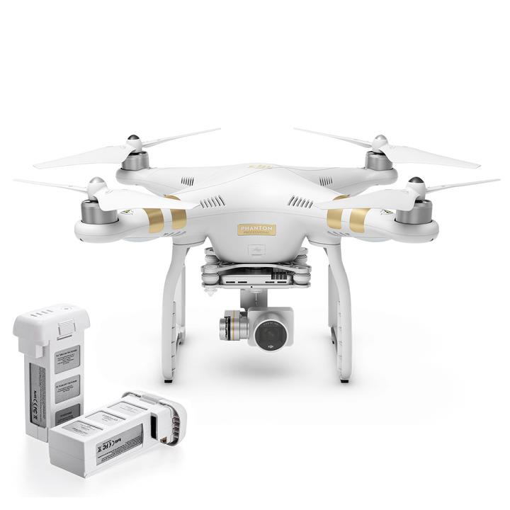 Квадрокоптер DJI Phantom 3 Professional с доп. аккумулятором