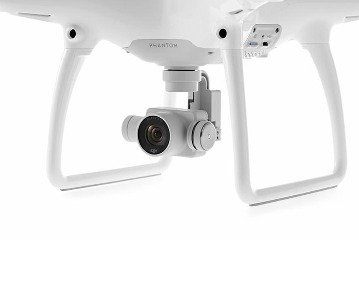 Квадрокоптер DJI Phantom 4 с подвесом и 4K камерой