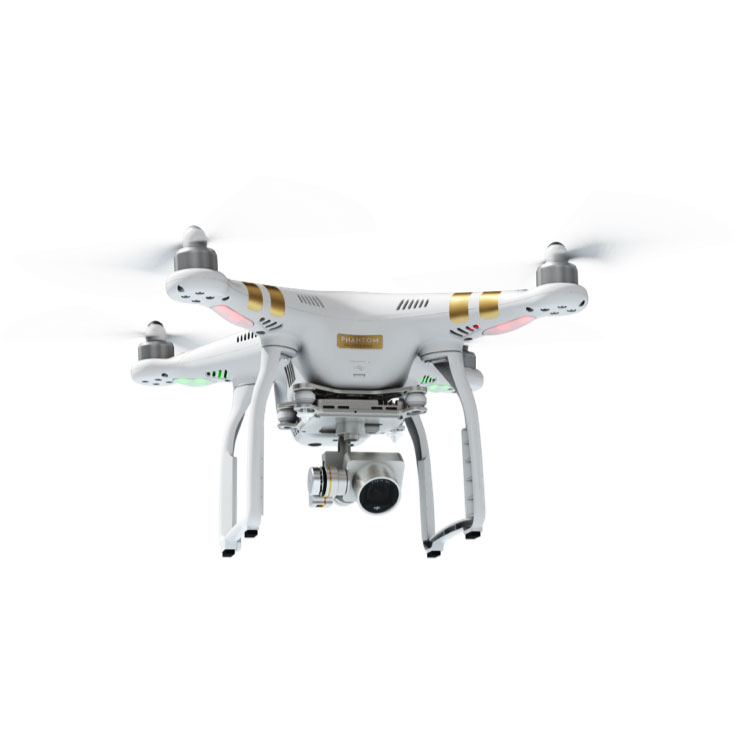 Квадрокоптер DJI Phantom 3 Professional с доп. аккумулятором и рюкзаком