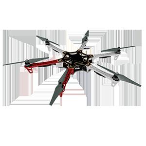 Гексакоптеры DJI F550