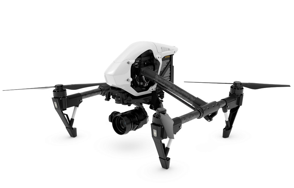 Квадрокоптер DJI Inspire 1 RAW Combo два пульта RTF