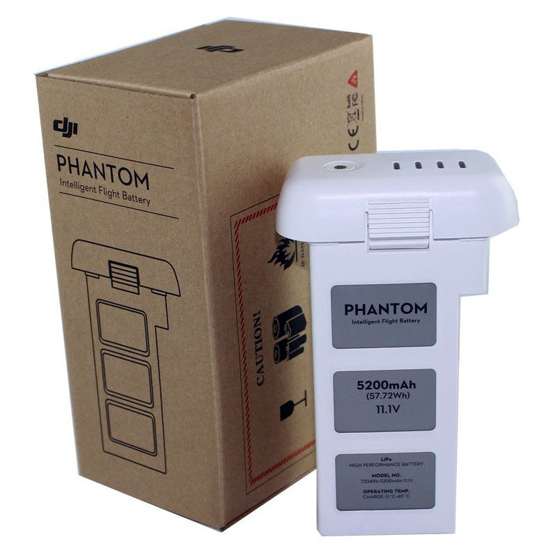 Аккумулятор Li-Pol 5200mAh для квадрокоптеров DJI Phantom 2 (Phantom 2V Part 1)