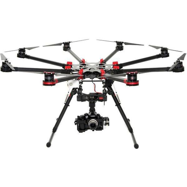 Октокоптер DJI S1000Plus + полетный контроллер A2 + подвес Z15-GH4