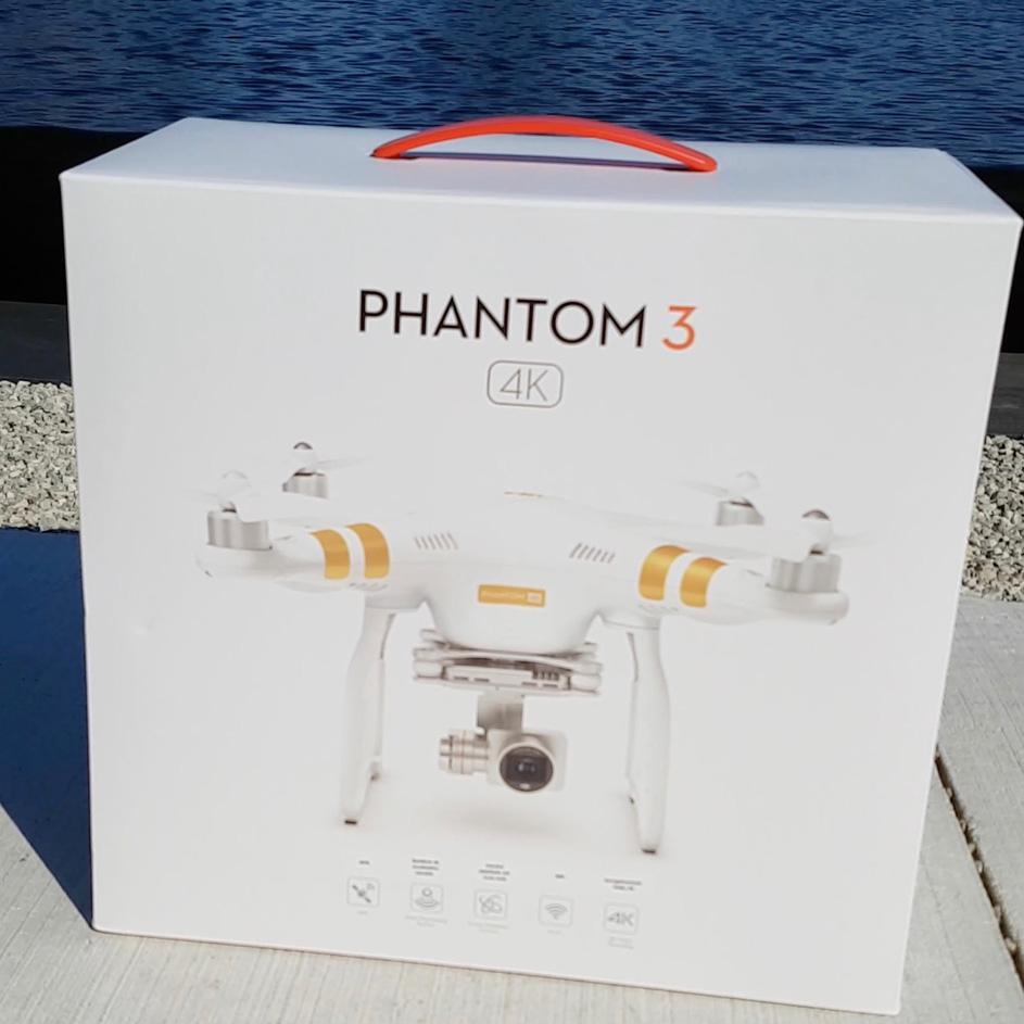 Квадрокоптер DJI Phantom 3 4K с 3х-осевым подвесом