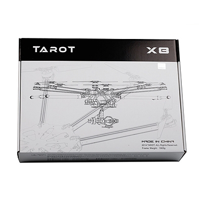 Рама октокоптера Tarot X8 1050мм карбоновая складная