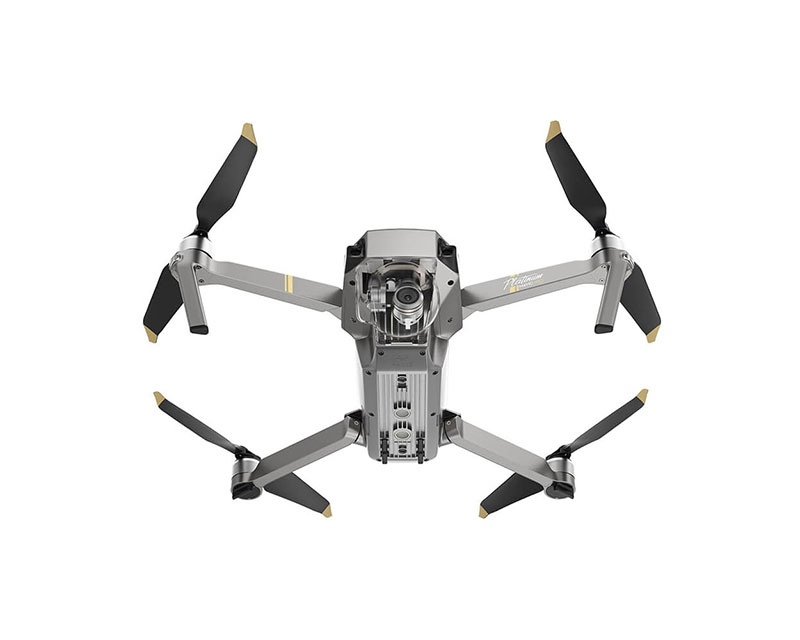 Квадрокоптер DJI Mavic Pro Platinum и видеоочки Goggles