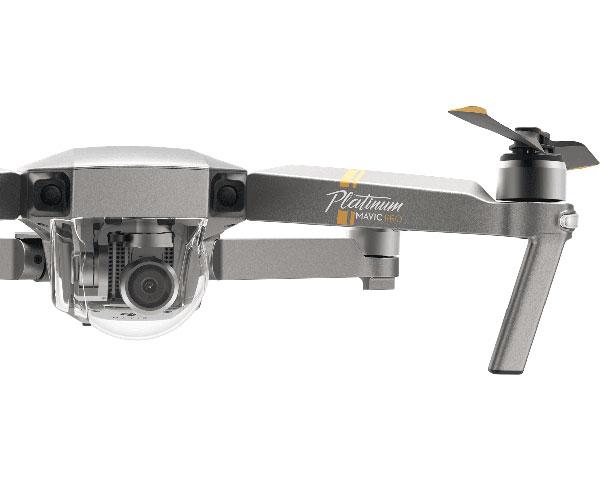 Квадрокоптер DJI Mavic Pro Platinum Fly More Combo и видеоочки Goggles