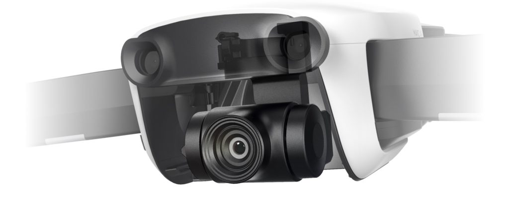 Квадрокоптер DJI Mavic Air Arctic White и видеоочки DJI Goggles