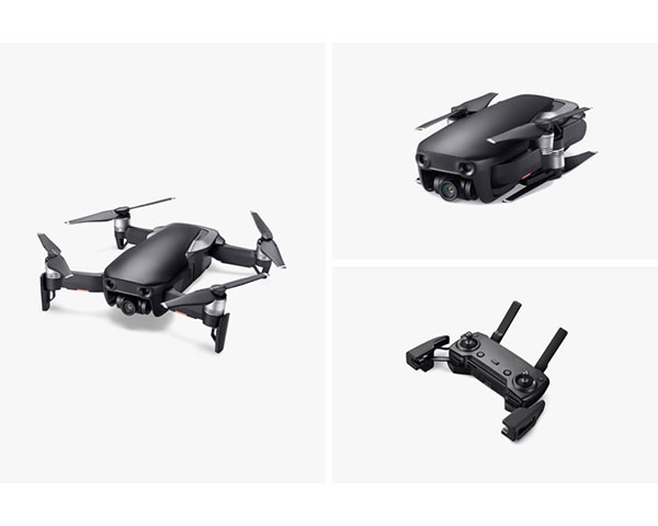 Квадрокоптер DJI Mavic Air Onyx Black (Черный Оникс)