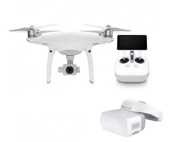 Квадрокоптер DJI Phantom 4 Pro Plus V2.0 и видеоочки Goggles