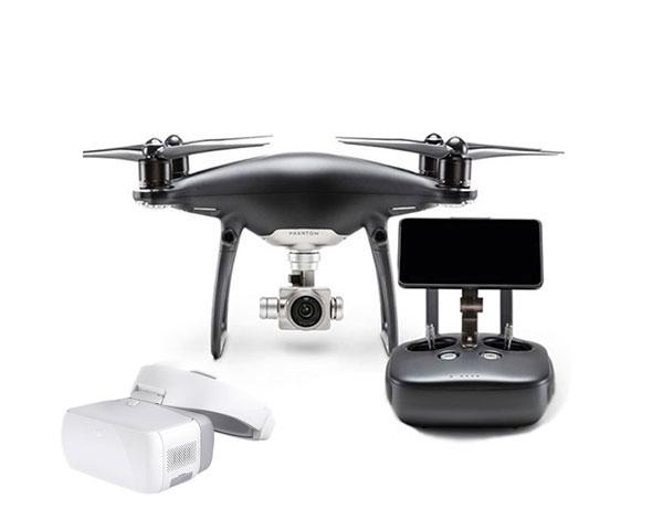 Квадрокоптер DJI Phantom 4 Pro Plus Obsidian и видеоочки Goggles