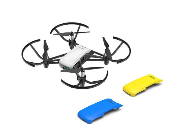 Квадрокоптер DJI Ryze Tello со сменными панелями