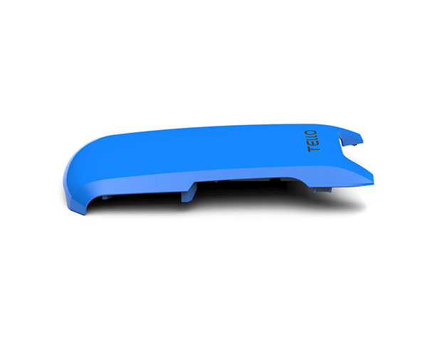 Накладка для квадрокоптера DJI Ryze Tello синяя (Part 4 Snap On Top Cover Blue)