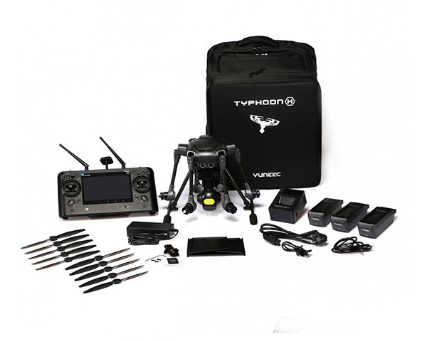 Гексакоптер Yuneec Typhoon H Professional с камерой-тепловизором CGO-ET