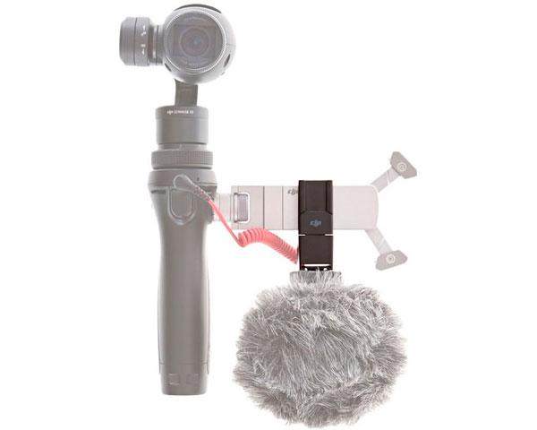 Крепление под микрофон для DJI Osmo (Part 38)