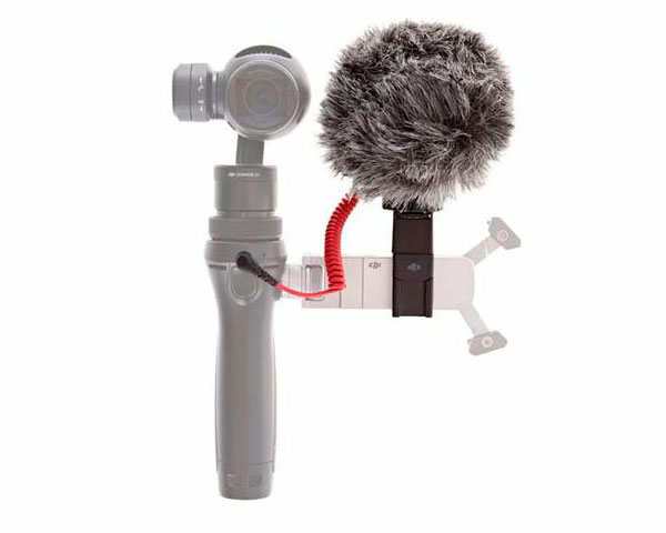 Микрофон с меховым чехлом для DJI Osmo (Part 45)