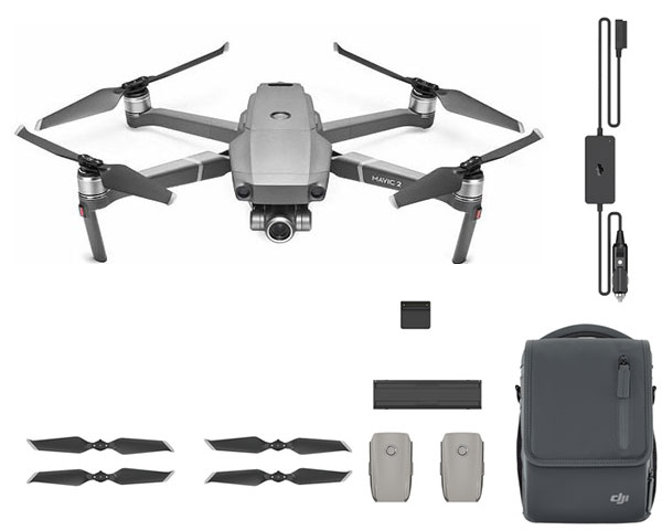 Квадрокоптер DJI Mavic 2 Zoom Fly More Combo