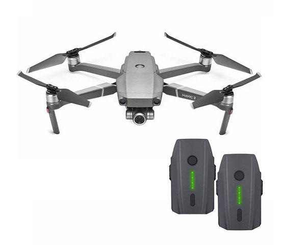 Квадрокоптер DJI Mavic 2 Zoom c двумя аккумуляторами