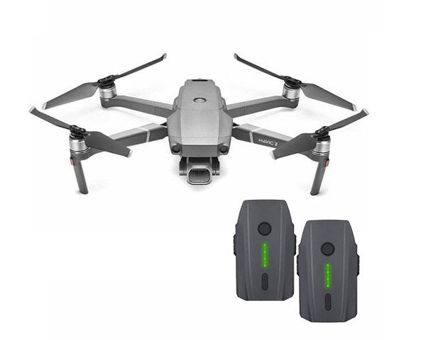 Квадрокоптер DJI Mavic 2 Pro c двумя аккумуляторами